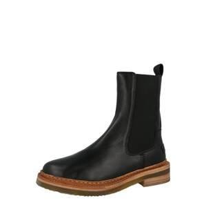 SHABBIES AMSTERDAM Chelsea boty  černá