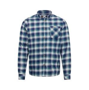 !Solid Košile 'Velibor'  námořnická modř / bílá / zelená