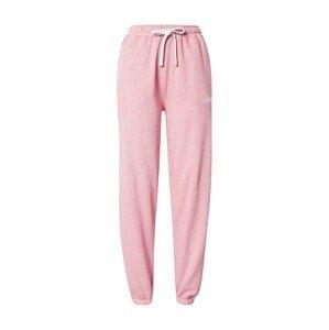 ELLESSE Kalhoty 'Velam'  pink / bílá