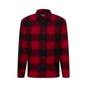 Abercrombie & Fitch Košile  červená / černá