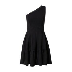 WAL G. Koktejlové šaty 'JANINE'  černá