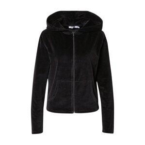 NA-KD Mikina s kapucí  černá