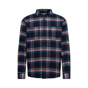 TOM TAILOR Košile  námořnická modř / oranžově červená / bílá