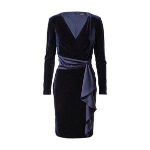 Lauren Ralph Lauren Koktejlové šaty 'KEERA'  safírová