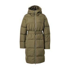 JACK WOLFSKIN Zimní kabát  olivová