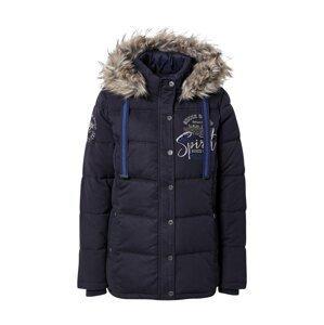 Soccx Zimní bunda  námořnická modř / bílá / modrá