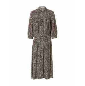sessun Košilové šaty 'JEANNETTE'  modrá / pudrová / humrová