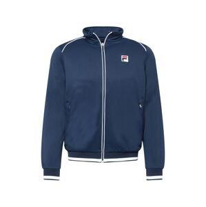 FILA Sportovní bunda 'Ben'  námořnická modř / bílá / ohnivá červená