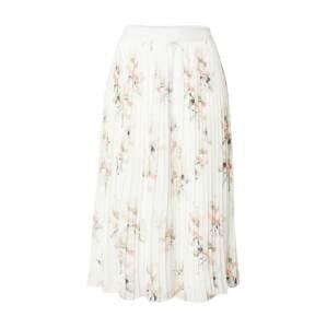 NA-KD Sukně  bílá / růžová / trávově zelená