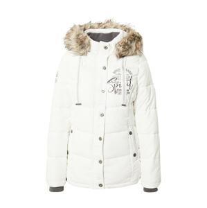 Soccx Zimní bunda  bílá / černá