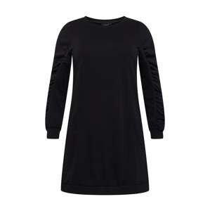 Zizzi Šaty 'DAWN'  černá