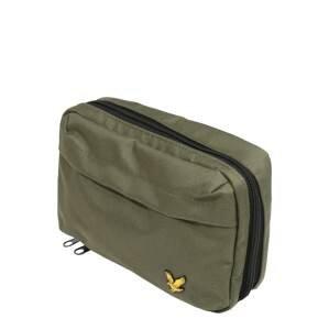 Lyle & Scott Kosmetická taška  zelená