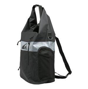 QUIKSILVER Sportovní batoh 'EVENING SESH'  černá / šedá