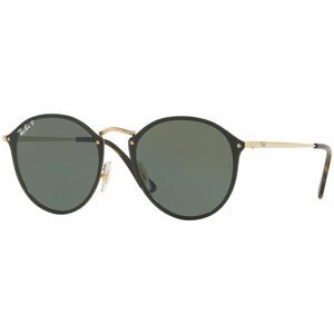 Ray-Ban Blaze Round Blaze Collection RB3574N 001/9A Polarized - Velikost ONE SIZE