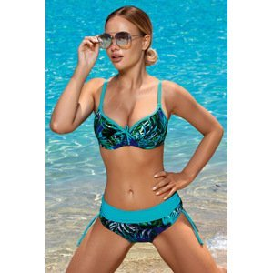 Aquarilla Dámské dvoudílné plavky Virginia Blue modrá 42-F