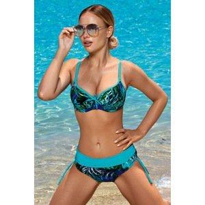 Aquarilla Dámské dvoudílné plavky Virginia Blue modrá 44-F