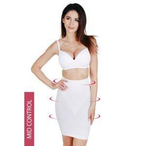 Hanna Style Stahovací  bezešvá spodnička Hanna 646 bílá L