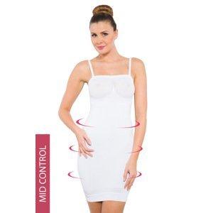 Hanna Style Stahovací šaty Hanna 6722-MicroClima bílá XL