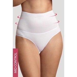 Babell Stahovací bavlněné kalhotky Blanca bílá S