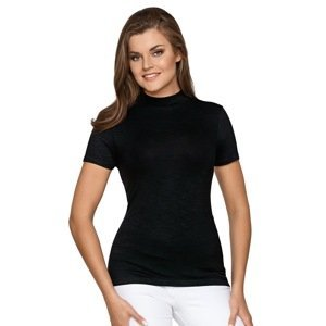 Babell Dámské tričko Babette z viskózy černá L