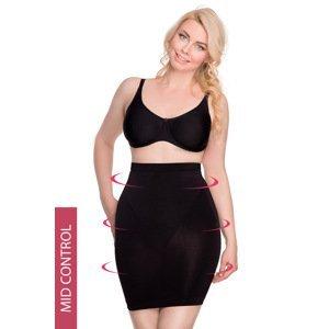 Hanna Style Stahovací  bezešvá spodnička Hanna 646 černá M