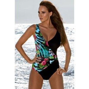 Madora Dámské jednodílné plavky Jessica 01 barevná 46