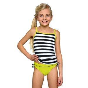LORIN Dívčí dvoudílné plavky Sunny vícebarevná 152