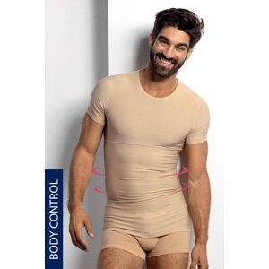 BLACKSPADE Stahovací tričko s kulatým výstřihem béžová XXL