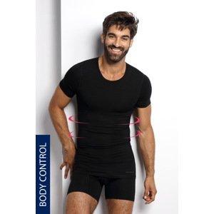 BLACKSPADE Stahovací tričko s kulatým výstřihem PLUS SIZE černá 4XL