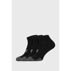 Under Armour 3 PACK černých ponožek Under Armour Locut černá M