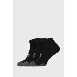 Under Armour 3 PACK černých ponožek Under Armour Locut černá XL