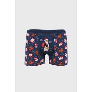 Cornette Vánoční boxerky Ho Ho jeans M