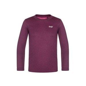 LOAP Dětské funkční tričko LOAP Pixy fuchsie 112/116