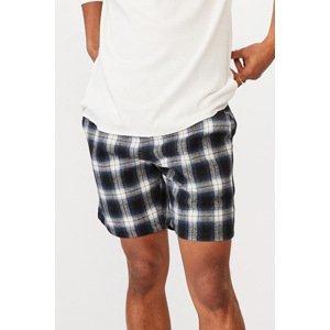 Cotton On Modré kostované šortky Lounge modrá XL