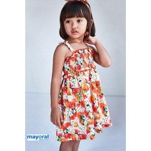 Mayoral Moda Infantil, S:A.U. Dívčí šaty s čelenkou Mayoral Melone barevná 4