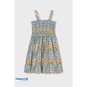 Mayoral Moda Infantil, S:A.U. Dívčí šaty Mayoral Lemon barevná 16