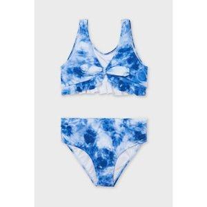 Mayoral Moda Infantil, S:A.U. Dívčí dvoudílné plavky Mayoral s mašlí modrá 16