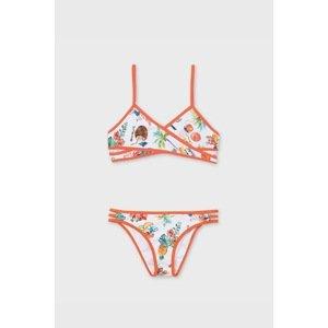 Mayoral Moda Infantil, S:A.U. Dívčí dvoudílné plavky Holiday barevná 16