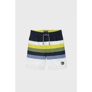 Mayoral Moda Infantil, S:A.U. Chlapecké plavkové šortky Mayoral Pistachio barevná 14