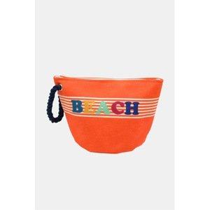 Mora Mora Dámská plážová taška Mini Beach oranžová uni