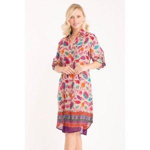 Iconique Plážové šaty Maya barevná XXL