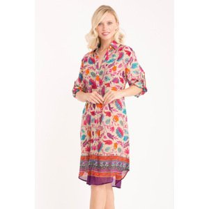 Iconique Plážové šaty Maya barevná XXXL