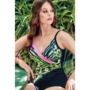 Miradonna Dámské jednodílné plavky Afrodite barevná 44