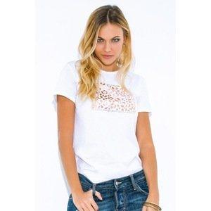 Jadea Dámské tričko Wild bílá L/XL