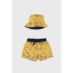 Mayoral Moda Infantil, S:A.U. Komplet  plavek a kloboučku Funny barevná 36