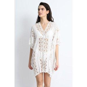 DOCA Plážové šaty Alexandra bílá uni
