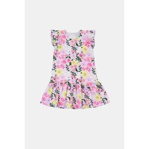 GarNA MAMA sp. Z o.o. Dívčí šaty Flowers barevná 128