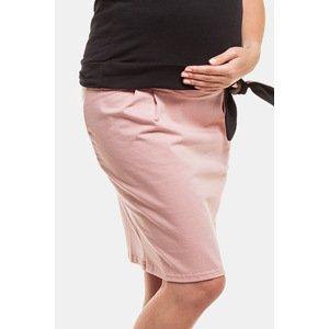 Anda Těhotenská sukně Rita růžová XXL