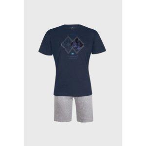 Il Granchio Modré pyžamo Sailing modrá XL