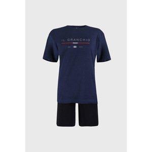Il Granchio Modré pyžamo Trevon modrá XL